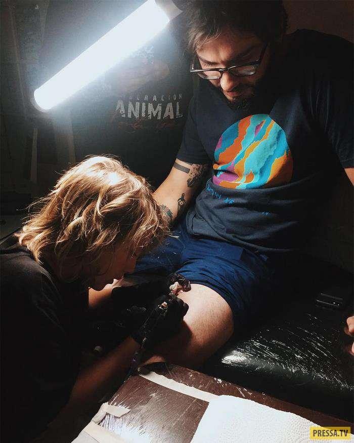 К этому 12-летнему татуировщику из Панамы уже выстраиваются очереди! (11 фото)