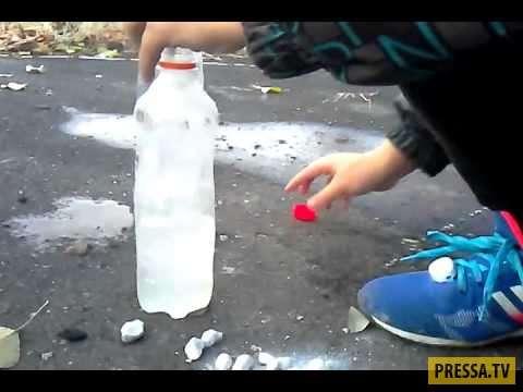 Смелый Антоха и бутылка с карбидом