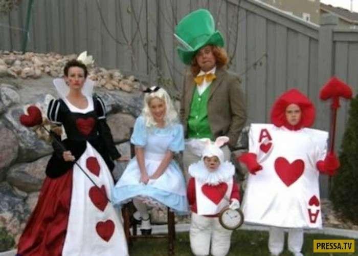 Самые смешные и креативные семейные костюмы (10 фото)