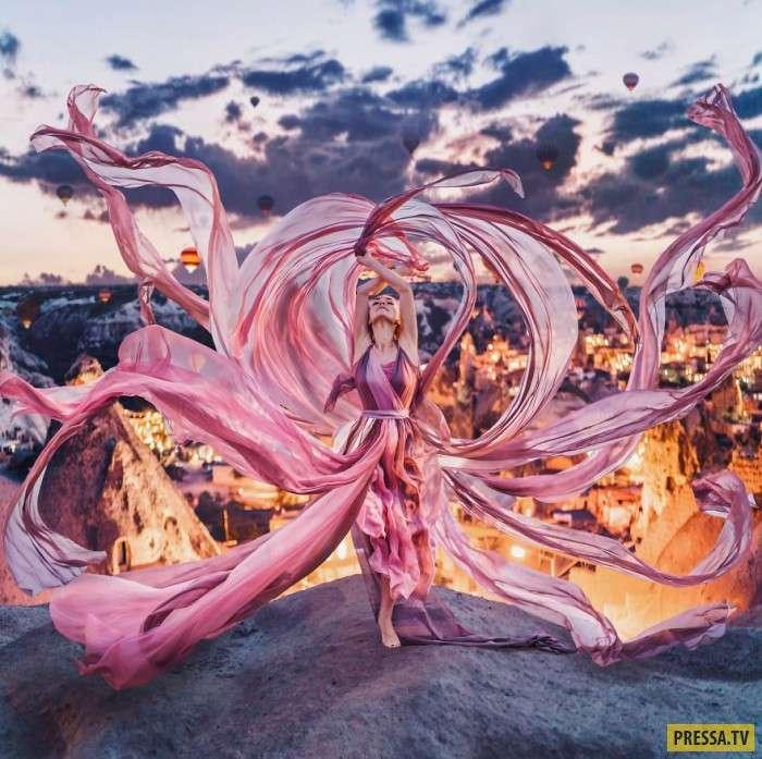 Фотограф из России путешествует по миру и доводит людей до творческого экстаза! (17 фото)