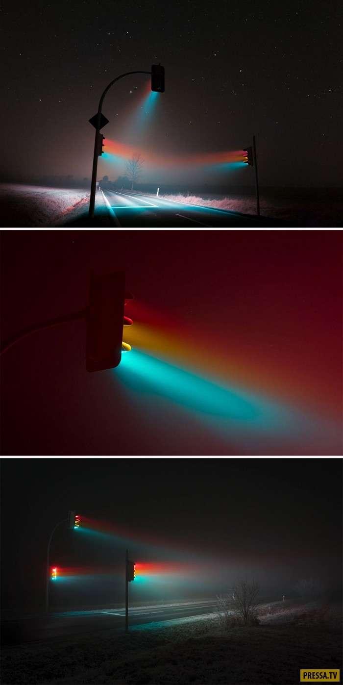 Волшебные фотографии с выдержкой (20 фото)