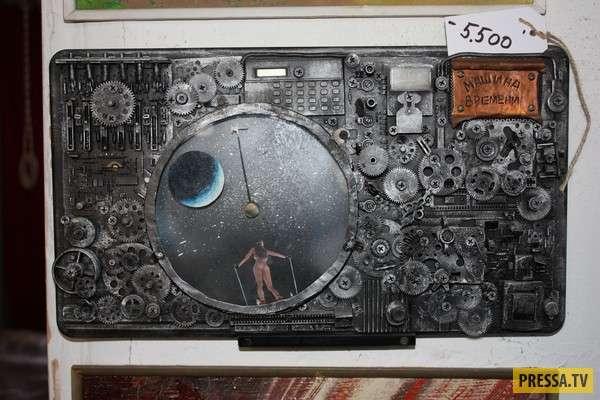 Русский умелец сделал свою машину времени (7 фото)