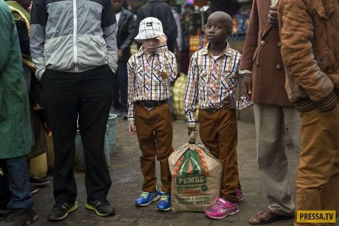 Интересные моменты жизни людей в Кении (21 фото)