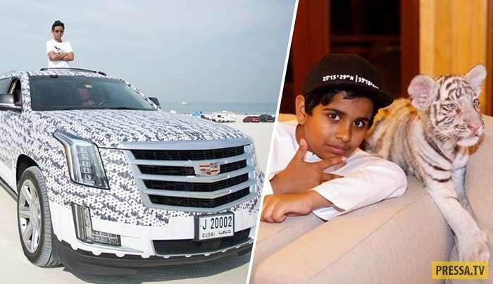 Как живет 15-летний миллионер из Дубая: звезды выстраиваются к нему в очередь (15 фото)