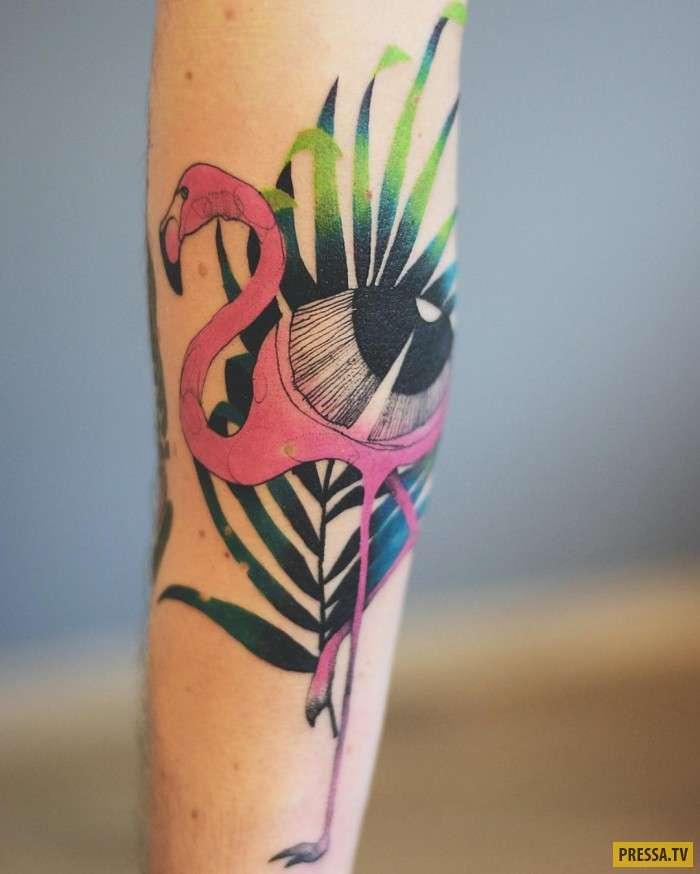 Очень странные татуировки (22 фото)