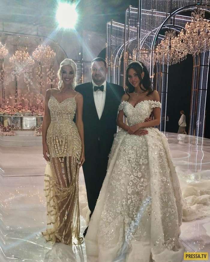 Шикарная свадьба российского олигарха (4 фото)