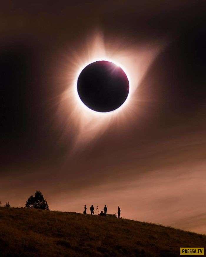 От этих фотографий солнечного затмения стынет кровь в жилах (13 фото)