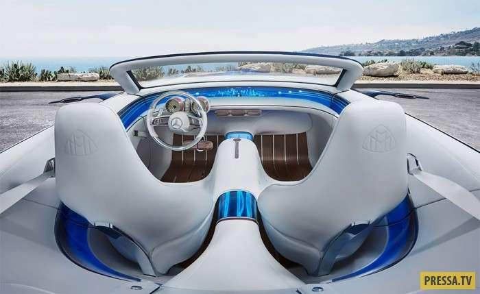 Бессовестно роскошный автомобиль будущего - Мерседес-Майбах Кабриолет 6 (5 фото)