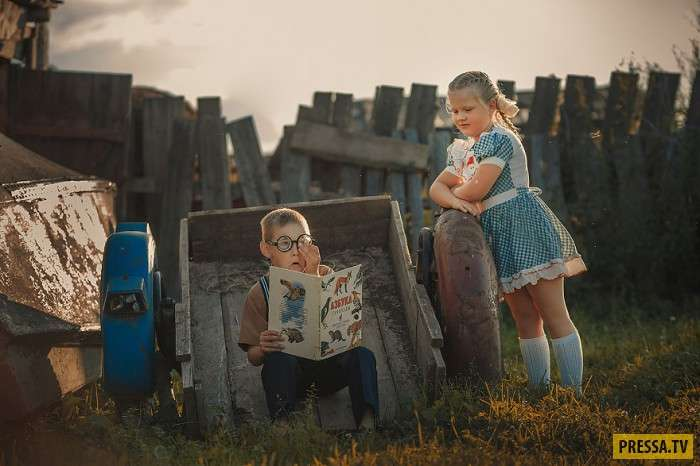 Невероятно милая детская фото-история (22 фото)