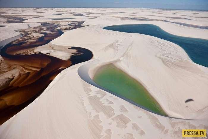 Уникальная пустыня с водой в Бразилии (34 фото+1 видео)