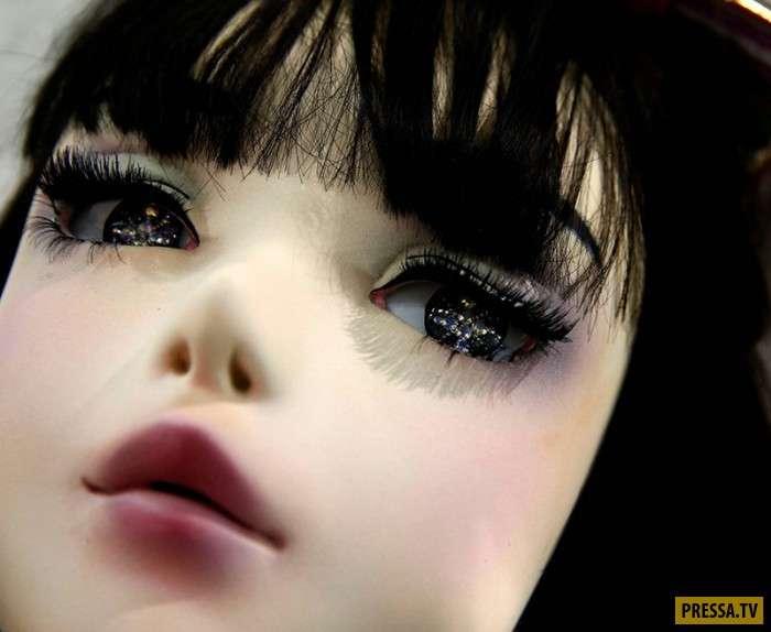Лулу Хашимото – самая жуткая -живая кукла- в Японии (15 фото)