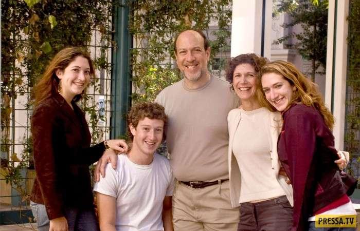 В семье Марка Цукерберга пополнение (5 фото)