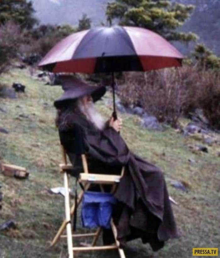 20 фото со съемок фильмов, которые стали легендами (20 фото)