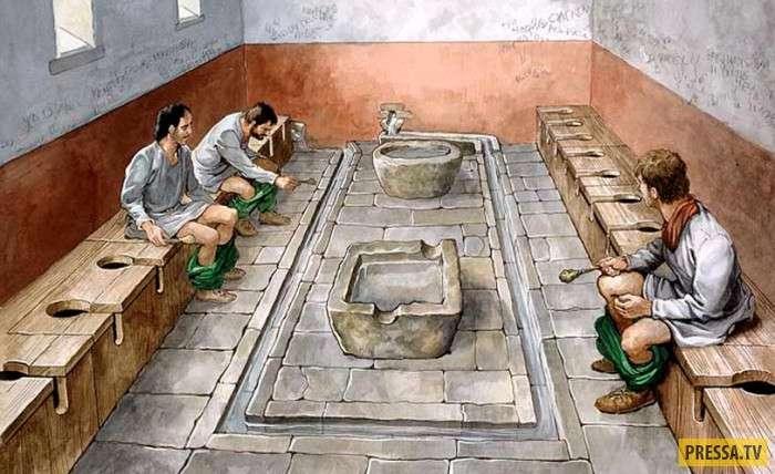 ТОП-8 шокирующих и отвратительных фактов о Древнем Риме (8 фото)