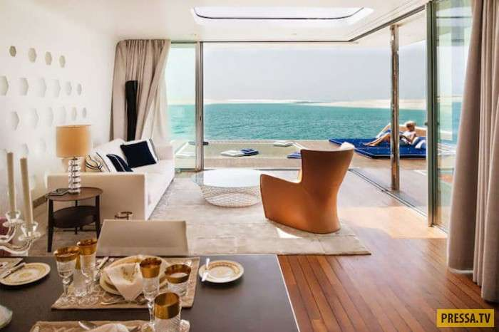 Новая реальность туризма: великолепные подводные отели в Дубае (13 фото)