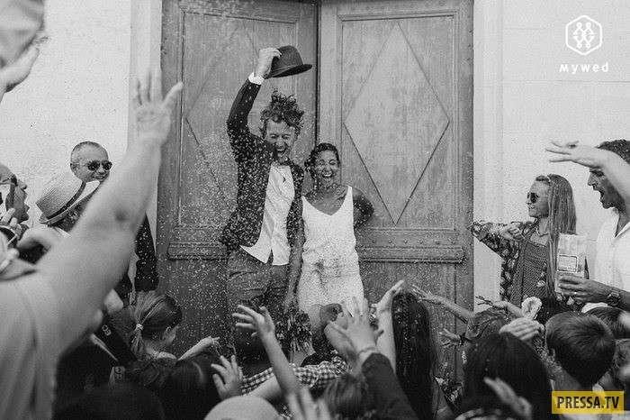 Лучшие летние свадебные фотографии 2017 года (7 фото)