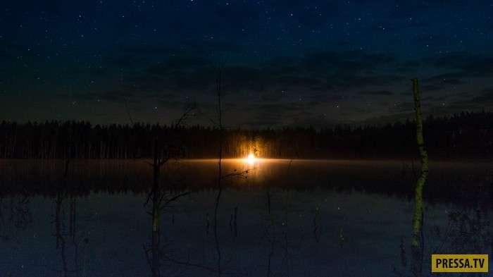 Чудесные русские озера – Лебединский и Изъяры (12 фото)