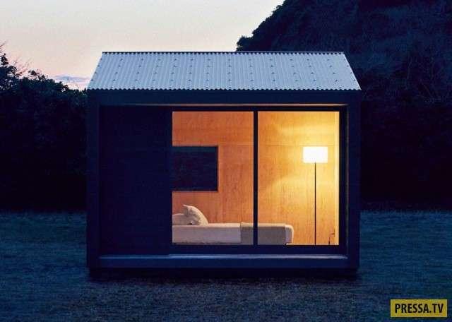 Иновационно-компактные японские домики (5 фото)