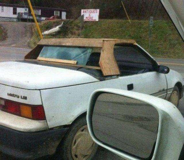Немного автомобильного юмора