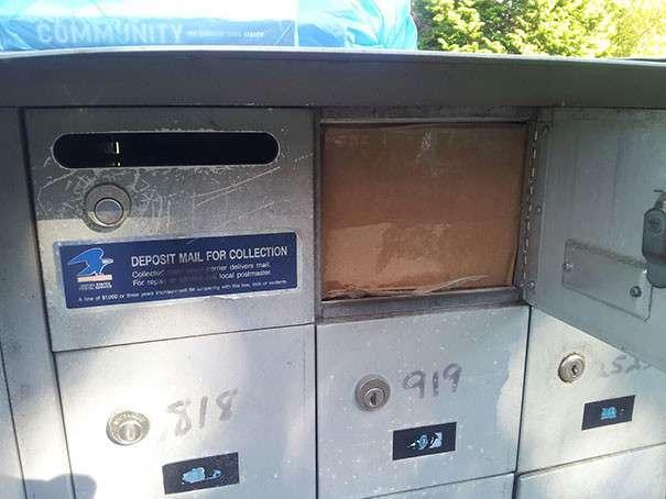 Похоже Почта России не единственная в своем роде