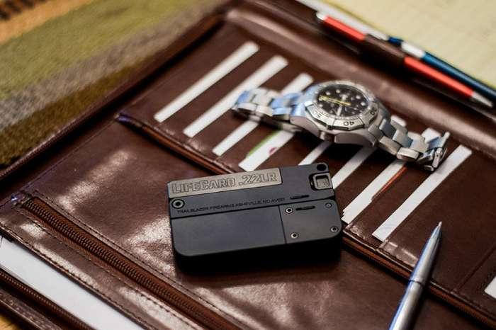 Пистолет размером с кредитную карту-10 фото-