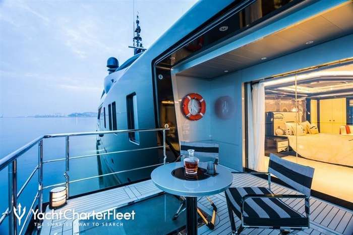OKTO — чартерная яхта, разрывающая повседневность-33 фото-