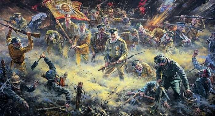 Легенда крепости Осовец-8 фото-