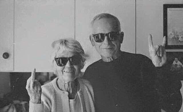 Клёвые бабушки и дедушки-21 фото-
