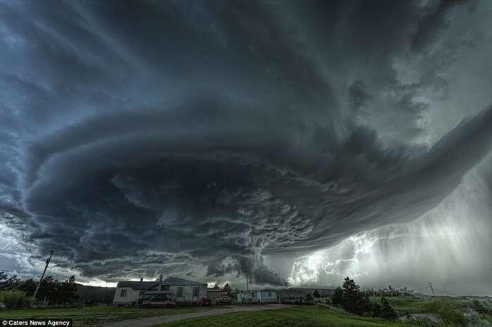 Когда погода злится: гром, молнии и торнадо-21 фото-