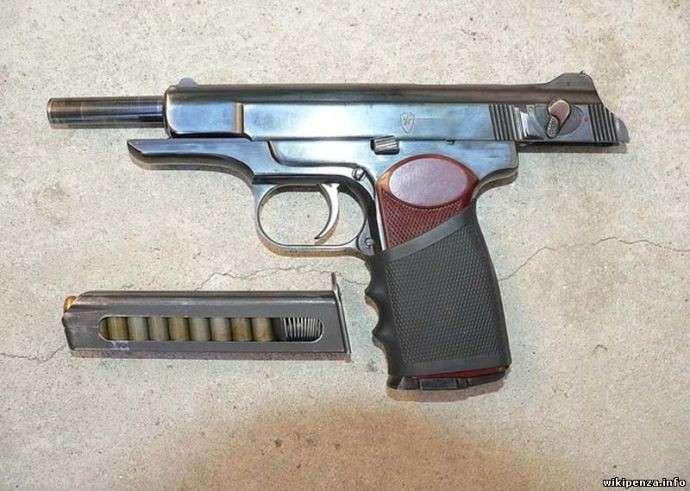 Пистолет Стечкина-8 фото-