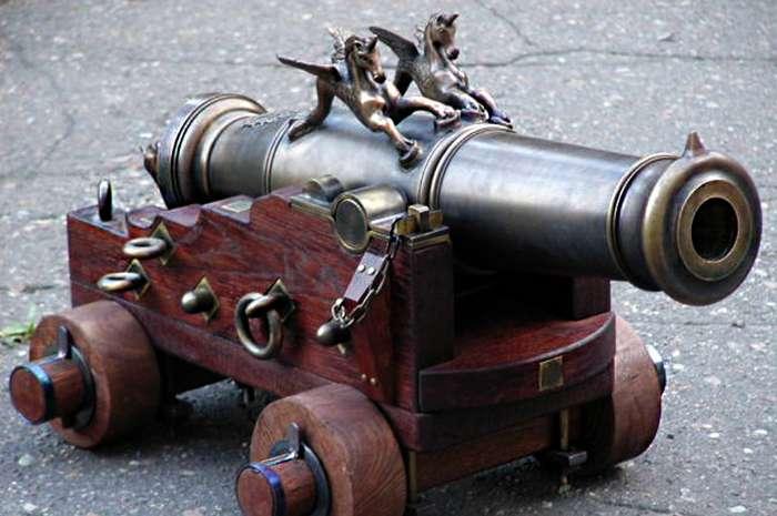 Артиллерия Петра I-37 фото + 4 видео-