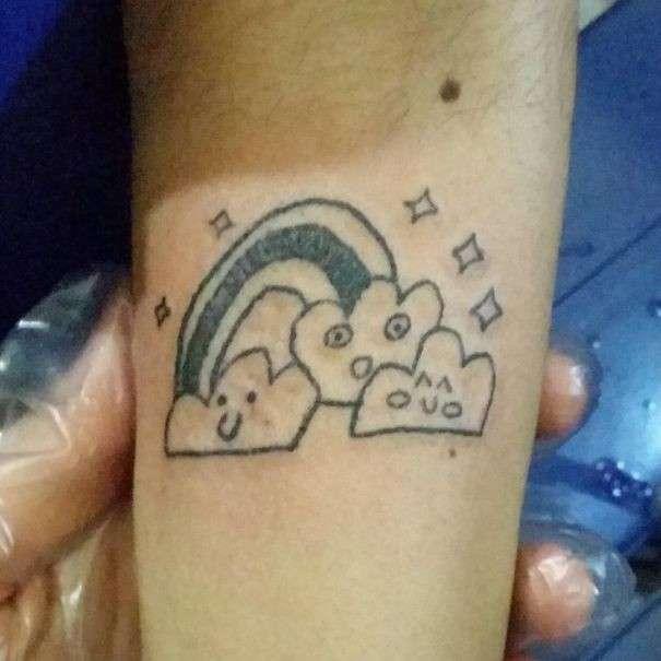 Тату-мастер из Бразилии, к которой выстраиваются очереди за уродливыми татуировками-43 фото-