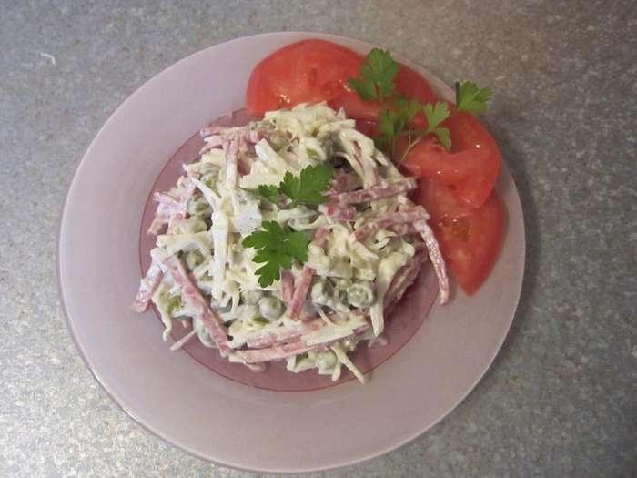 Салат на раз-два-три-1 фото-