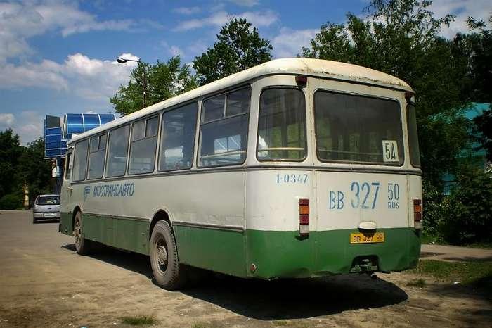 Последний из могикан. ЛиАЗ - 677Б-16 фото-