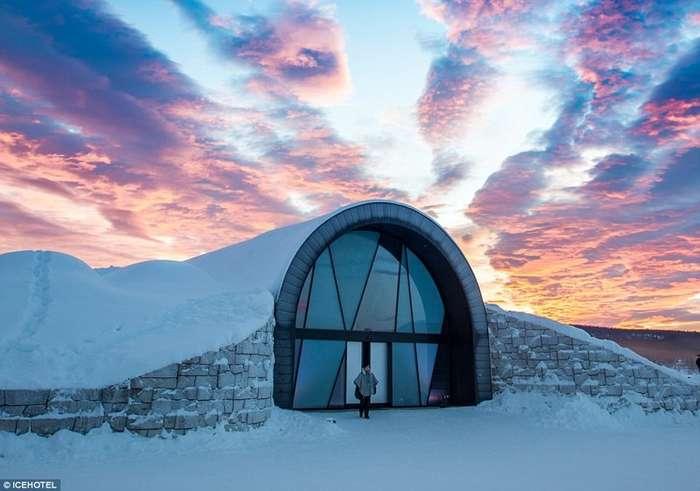 Шведы приглашают в отель, где даже летом можно промерзнуть до костей-4 фото-