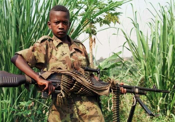 Дети-солдаты. Юные рабочие войны-20 фото-