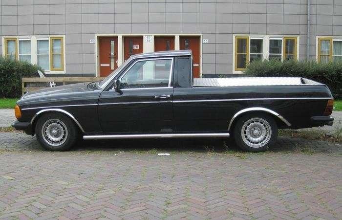Пикапы Mercedes-Benz-11 фото-
