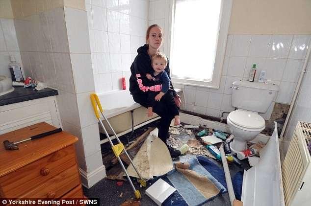 Мать с ребенком обнаружила в новом доме клубок змей!-5 фото-