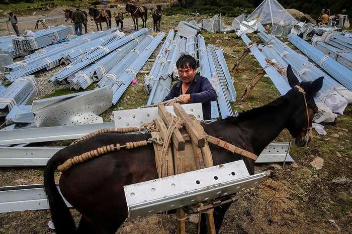 Как электрифицируют Тибет-21 фото-