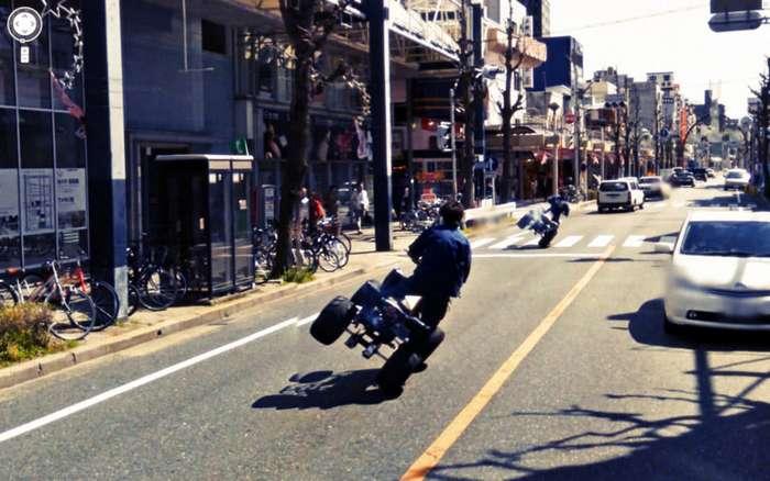 Уличные шедевры с Googlе Street View-37 фото-