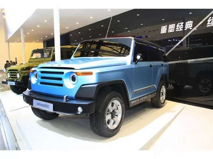 Китайский УАЗик-15 фото-