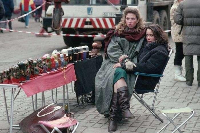 Россия в 90-е -20 фото-