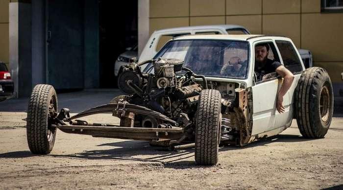 Лада Ока V8 OkaRatRod-11 фото-