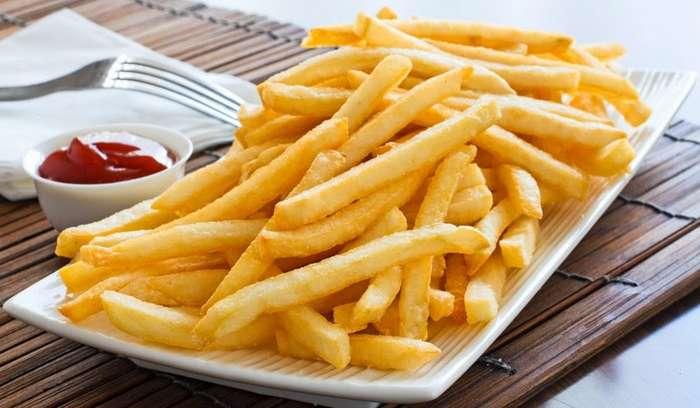 Вкусный картофель фри в духовке-1 фото-