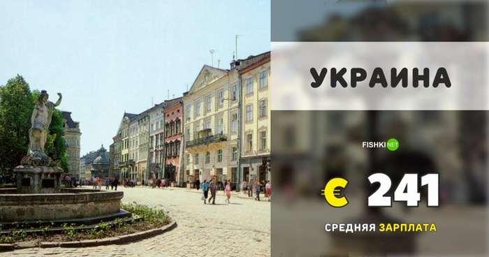 Наглядно о самых низких и высоких зарплатах в Европе-14 фото-