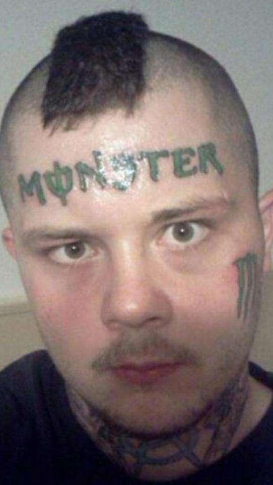 Мммм... не вполне удачные тату-14 фото-