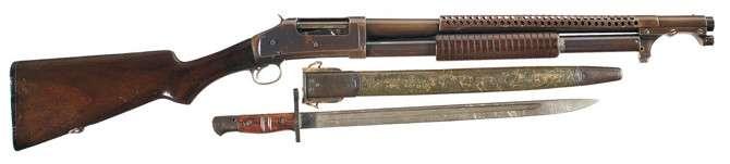 Winchester Model 1897 Trench Gun-8 фото-
