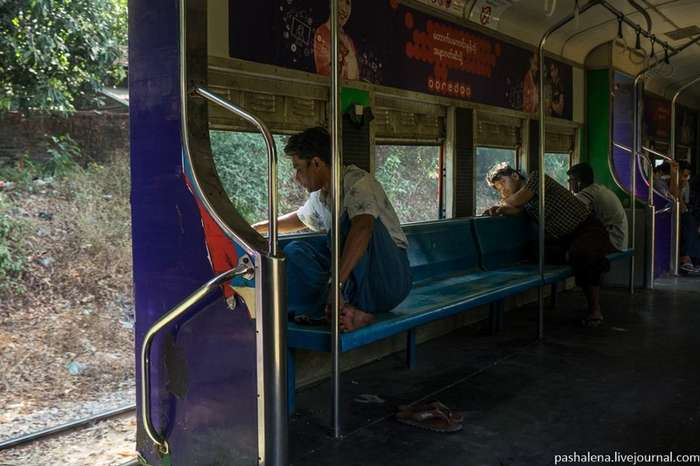 Железные дороги Мьянмы. Жаркие и пыльные-61 фото-