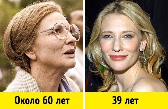 10ролей, которые показали, как могут выглядеть любимые актеры встарости