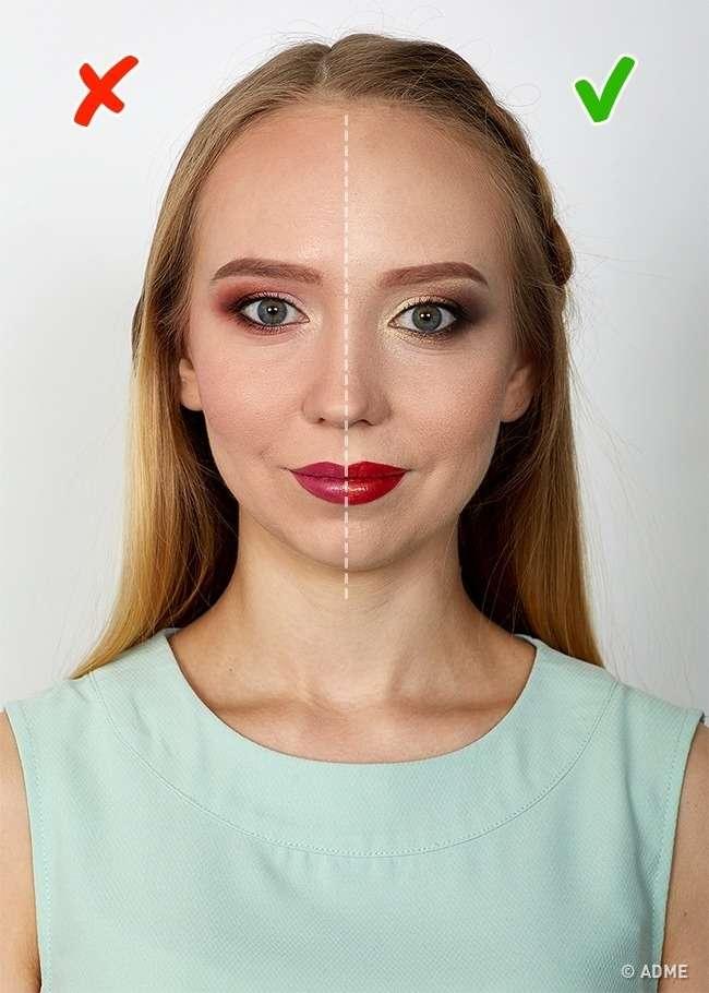 Вот какой макияж подходит каждому из4цветотипов внешности